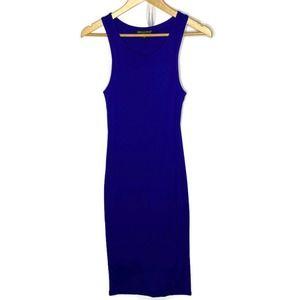 American Dream Sleeveless Dress Royal Blue XS